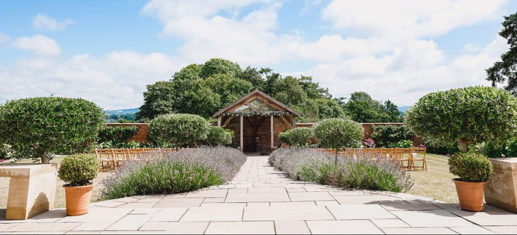 Upton Barn Walled Garden